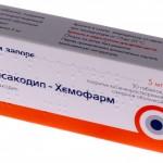 Бисакодил-хемофарм инструкция по применению, противопоказания, побочные эффекты, отзывы