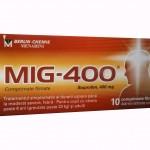 Миг 400 инструкция по применению, противопоказания, побочные эффекты, отзывы