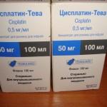 Цисплатин-тева инструкция по применению, противопоказания, побочные эффекты, отзывы
