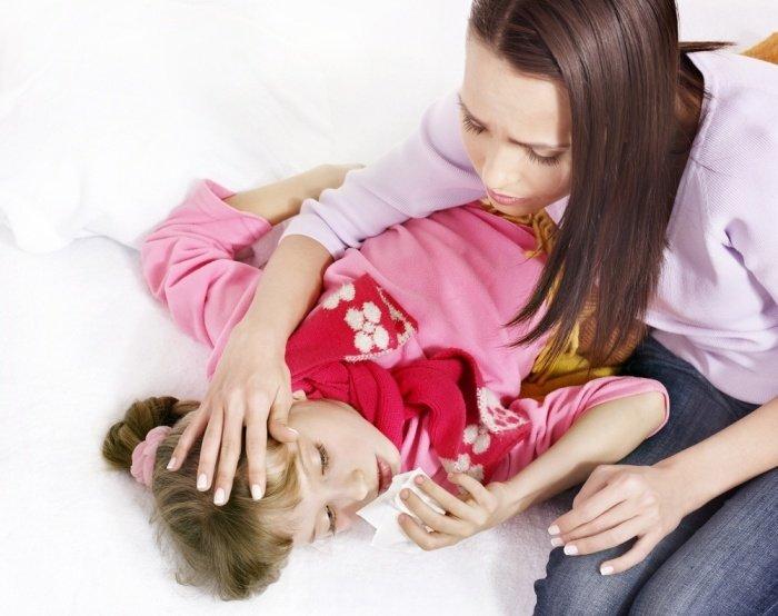 Постельный режим очень важен при лечении коклюша у детей