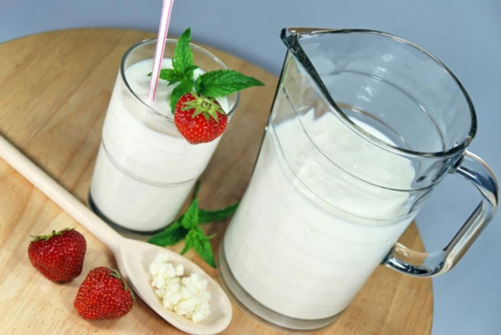 Молоко, йогурт и творог
