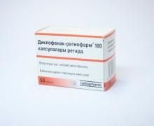 Диклофенак-ратиофарм инструкция по применению, противопоказания, побочные эффекты, отзывы