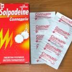 Солпадеин инструкция по применению, противопоказания, побочные эффекты, отзывы