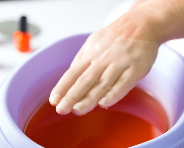 Парафиновая ванночка для рук