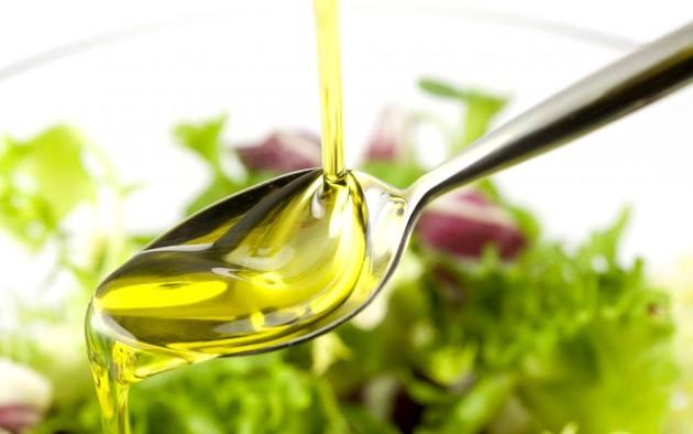 Салат с маслом виноградных косточек