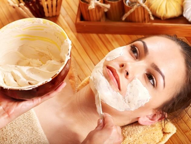 масляная маска для лица