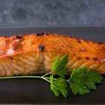 лосось под медово-соевым соусом