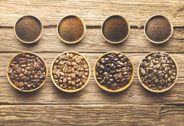 Различные сорта кофе