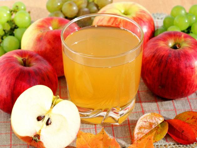 Яблочный сок своими руками