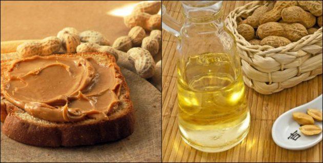 Арахисовая паста и масло