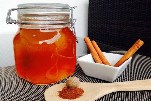 Мёд и мускатный орех