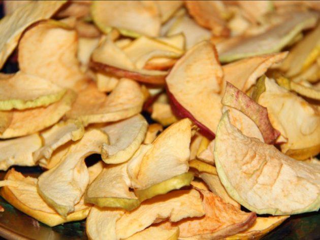 Сушёные яблоки