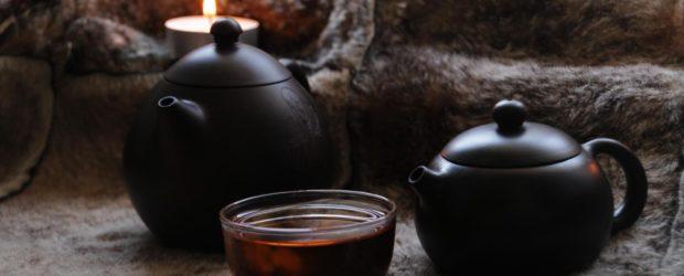 Чаепитие с пуэром