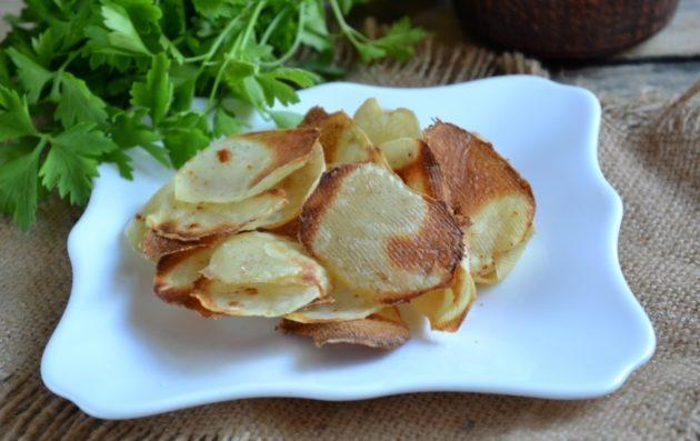 Готовые домашние чипсы