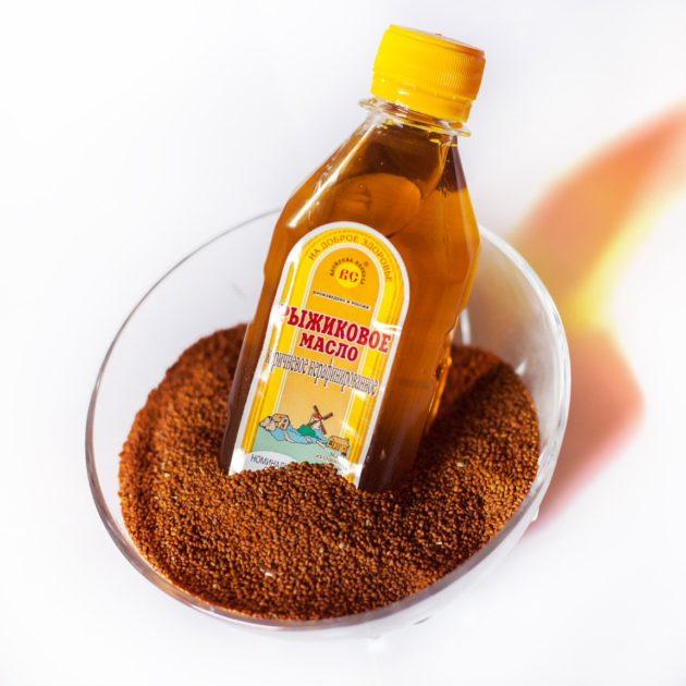 Нерафинированное масло из семян рыжика