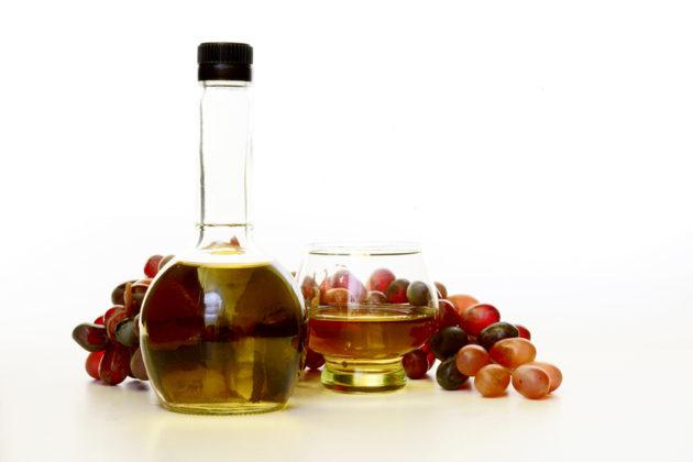 Виноград и виноградный уксус