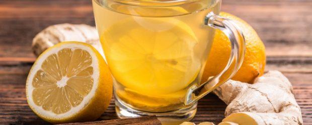 Чай с имбирём, лимоном и пряностями