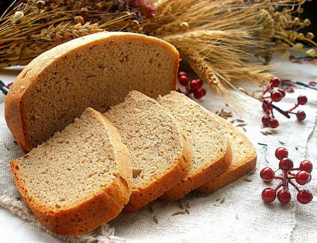 Ржаной хлеб нарезанный
