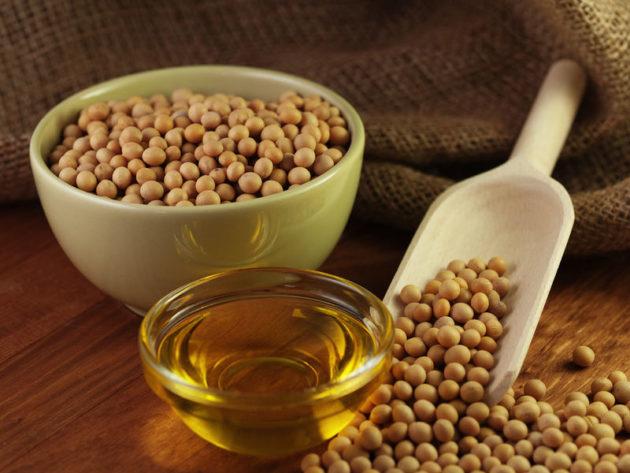 Соевые бобы и масло