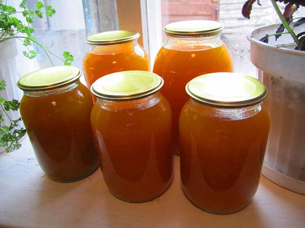 Консервированный тыквенный сок