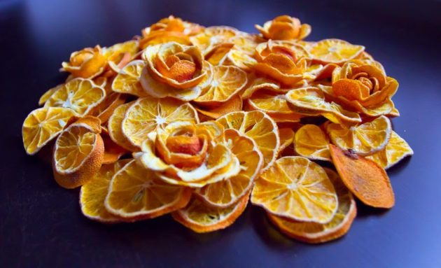 Сушёные мандарины