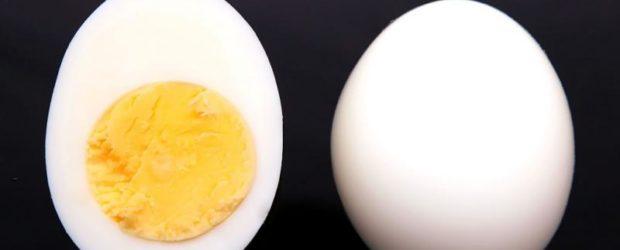 Яйцо отварное