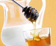 молоко м мёдом