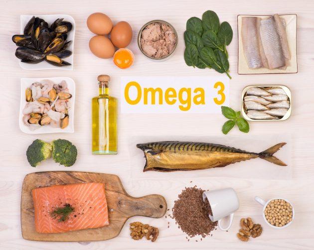 Продукты, содержащие Омега-3