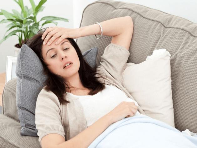 Женщина с низким давлением