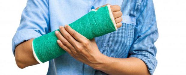 Пациент с переломом руки