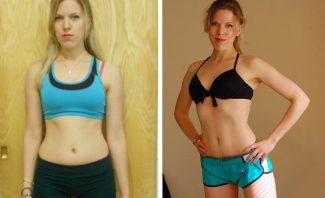 Фото до и после диеты DASH