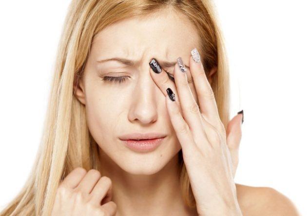 промывание глаз фурацилином