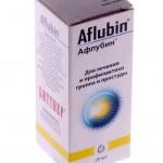 Афлубин инструкция по применению, противопоказания, побочные эффекты, отзывы