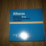 Алкеран инструкция по применению, противопоказания, побочные эффекты, отзывы