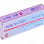 Анальгин-хинин инструкция по применению, противопоказания, побочные эффекты, отзывы