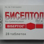 Бисептол инструкция по применению, противопоказания, побочные эффекты, отзывы