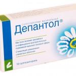 Депантол (суппозитории вагинальные) инструкция по применению, противопоказания, побочные эффекты, отзывы