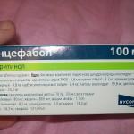 Энцефабол инструкция по применению, противопоказания, побочные эффекты, отзывы