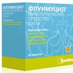 Флуимуцил-антибиотик ит инструкция по применению, противопоказания, побочные эффекты, отзывы