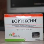 Кортексин инструкция по применению, противопоказания, побочные эффекты, отзывы