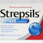 Стрепсилс плюс инструкция по применению, противопоказания, побочные эффекты, отзывы