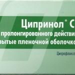 Ципринол инструкция по применению, противопоказания, побочные эффекты, отзывы