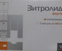 Зитролид форте
