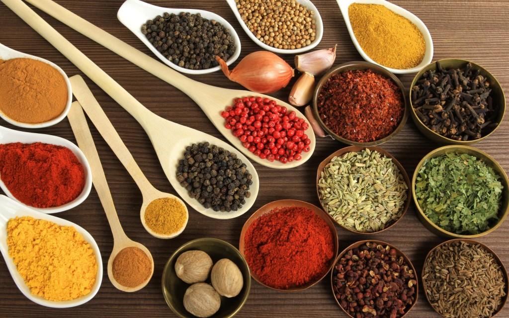 разнообразие специй на вашем столе
