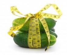 Огуречная диета — меню, положительные свойства