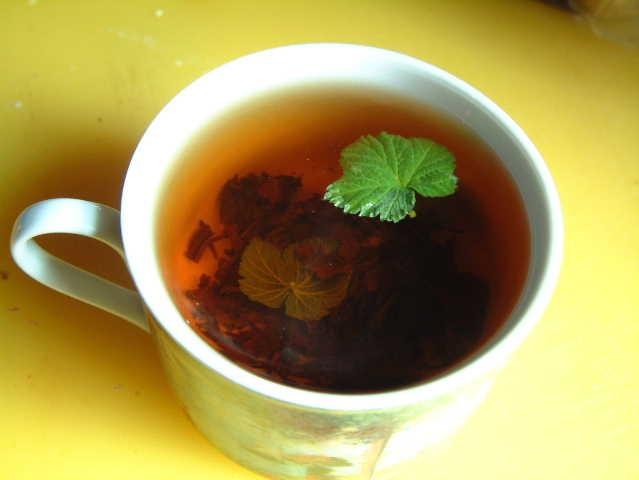 Чай со смородиновым листом при беременности