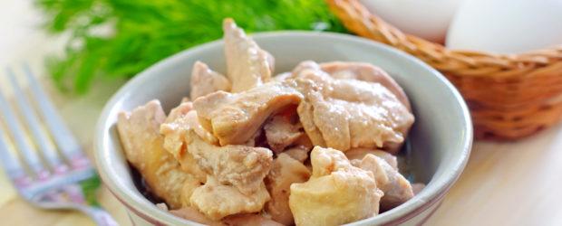 Печень трески в миске