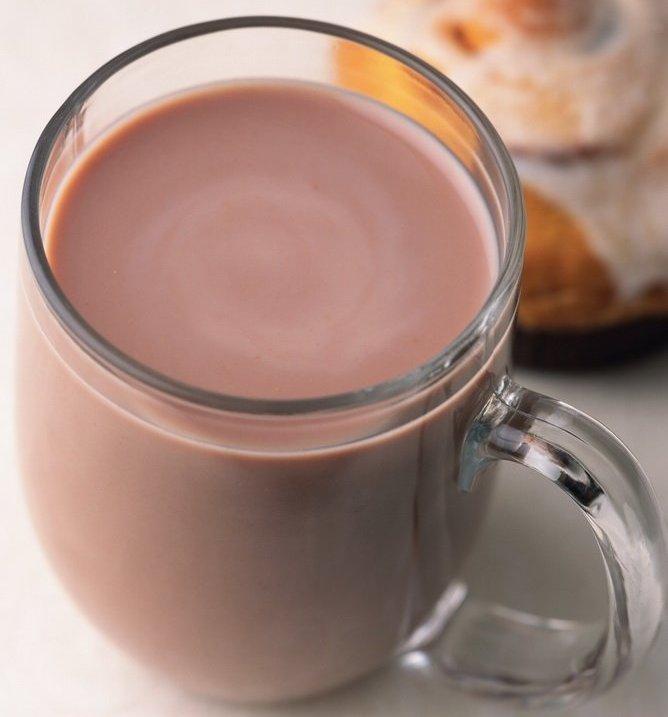Какао с молоком фото