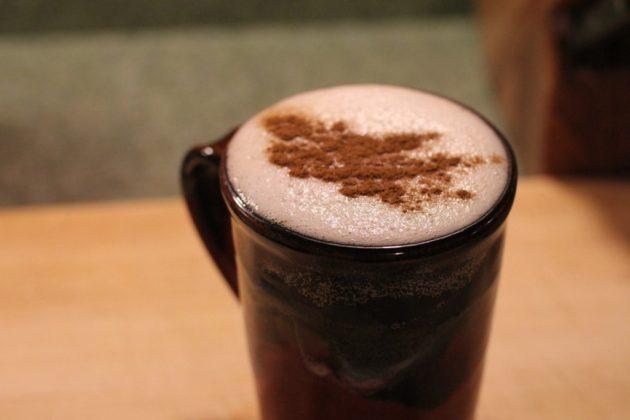 Напиток с мускатным орехом