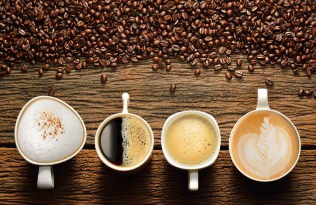 Разнообразие видов кофе